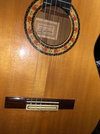 Guitarra flamenca Hermanos conde felipe V
