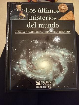 """libro """"los últimos misterios del mundo"""""""