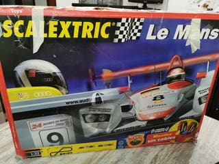 SCALEXTRIC ANTIGUO Lemans, Coches incluidos