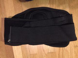 Protección faja moto offroad Fox black belt