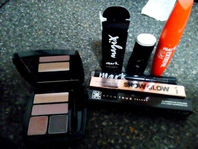 complete makeup and body care set