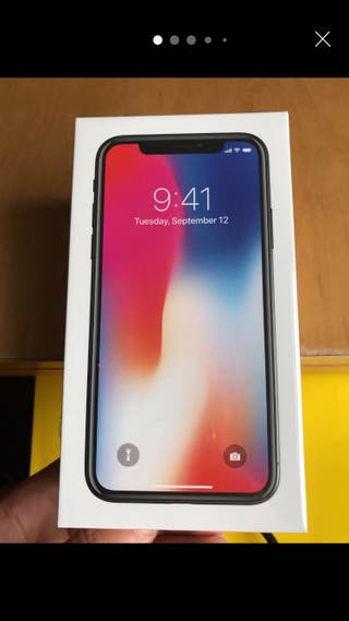IPhone X 64 Gb new sealed