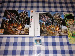 Monster Hunter Ultimate 4 ultimate Nintendo 3ds