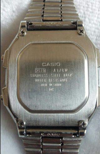 Casio A178W