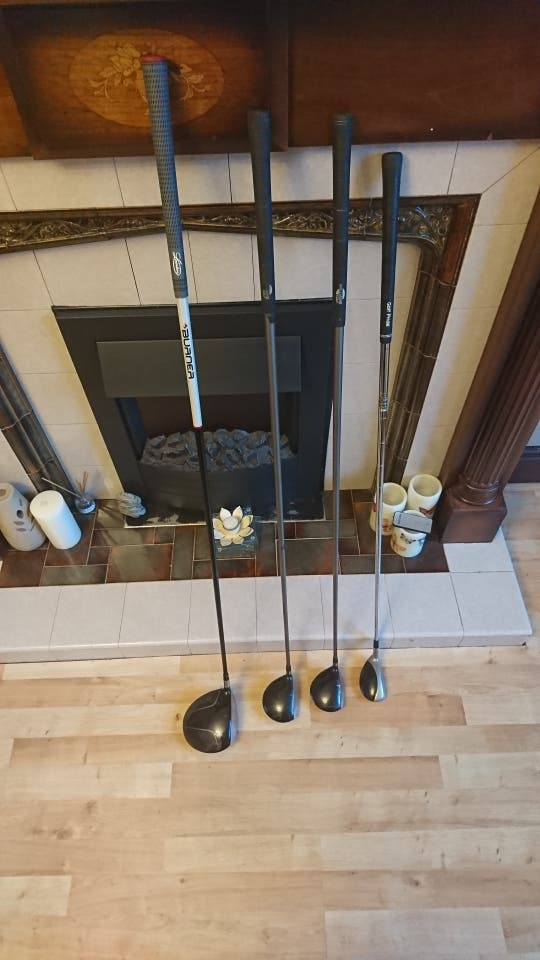 full set of callaway big burtha irons and more