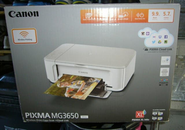 Canon PIXMA MG3650 Printer/Scanner