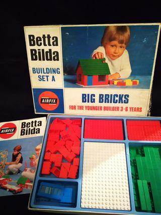 juguete construcción antiguo Big bricks