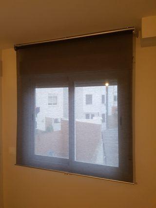 3 estores enrollables de Ikea para ventana normal