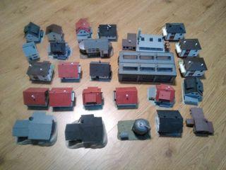 Maquetas de edificios para diorama (lote)