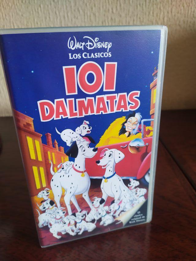 Película VHS de Disney - 101 dálmatas