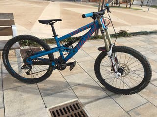 Bici de descenso/freeride