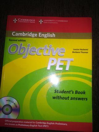 Libro B1 Inglés Objective Pet