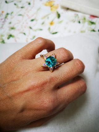 anillo bisuteria