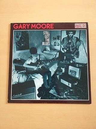 VINILO GARY MOORE - STILL GOT THE BLUES (LP) 1990
