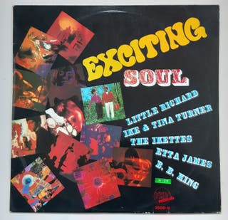 VINILO EXCITING SOUL