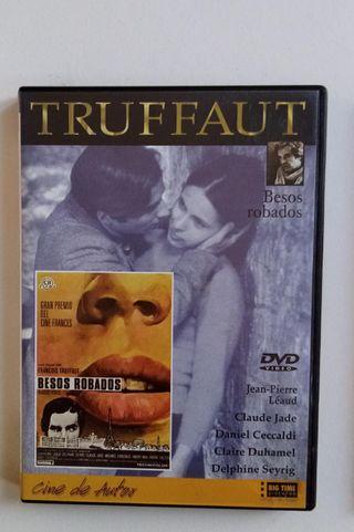 "DVD pelicula FRANÇOIS TRUFFAUT ""BESOS ROBADOS"""
