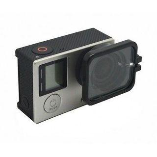 Lente protector con Capucha para cámara GoPro Hero