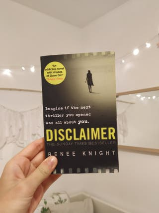 Disclaimer de Renee Knight | Libro en Inglés