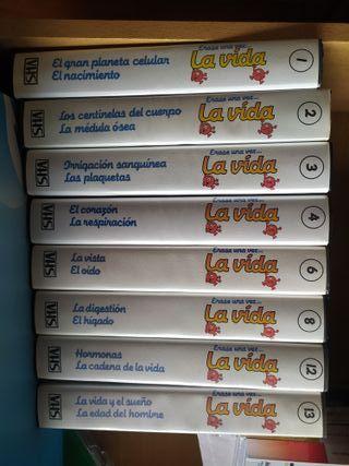 Colección Érase una vez la vida, cinta VHS