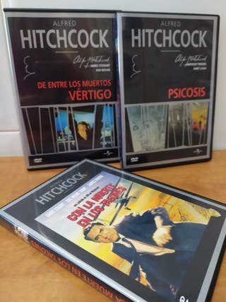 DVD / Películas. HITHCOCK