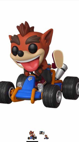 Crash Bandicoot Funko pop + regalo