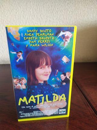 Cinta VHS original de Matilda