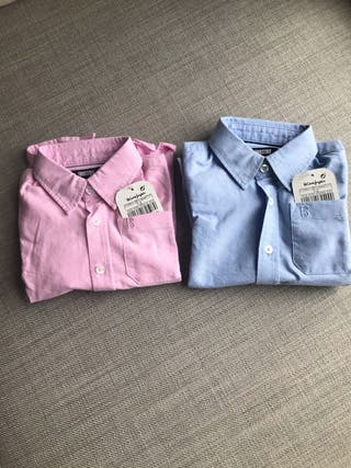 Lote Camisas El Corte Ingles Nuevas con Etiquetas