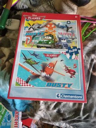 puzzle aviones