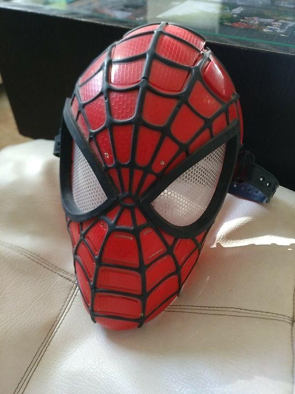 Mascara Spiderman con Luz