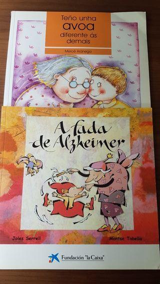 2 libros infantiles sobre el Alzheimer