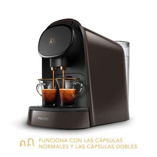 Cafetera L'OR Barista Moonstone Gris +170 cápsulas