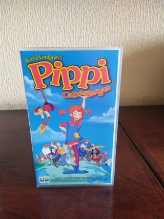Película VHS Pipi calzaslargas