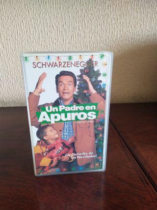 Película VHS Un padre en apuros