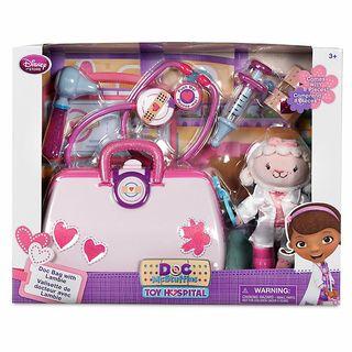 maletín doctora juguetes interactivo