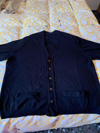 Chaqueta negra lana Talla 48