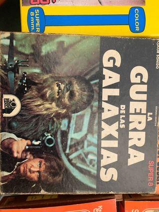 Película súper 8 la guerra de las galaxias