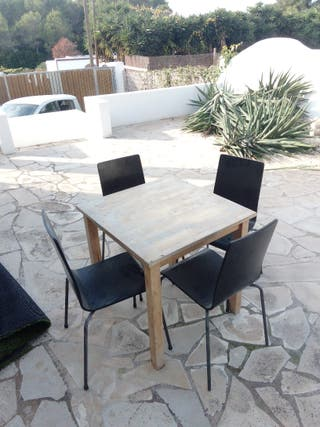 silla e mesa