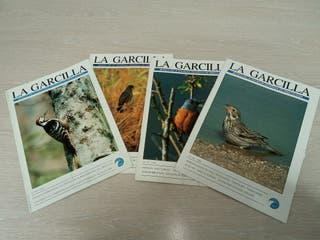 Revistas La Garcilla. SEO/Birdlife