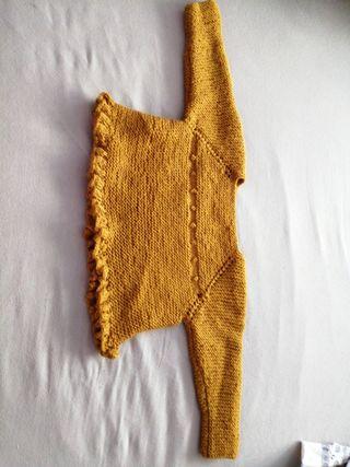 jersey abierto por detrás de 6 a 9 meses