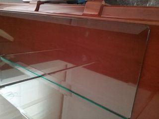 tablero de cristal biselado