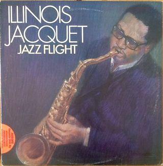 """ILLINOIS JACQUET """"JAZZ FLIGHT"""" LP"""