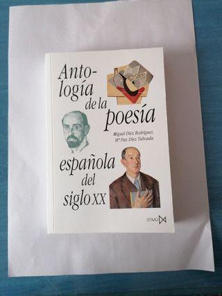 Libro Antología de la poesía española