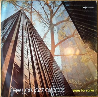 "NEW YORK JAZZ QUARTET ""BLUES FOR SARKA"" LP"
