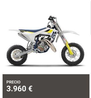 Moto niño motocross Husqvarna tc 50