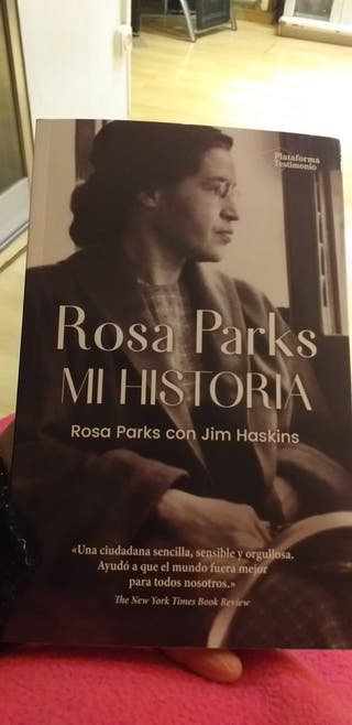 """Libro Rosa Parks """"mi historia """"novedad"""