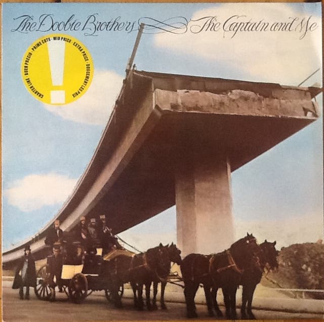 """THE DOOBIE BROTHERS """"THE CAPTAIN AND ME"""" LP"""