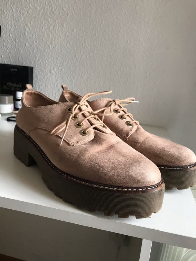 Zapatos rosa palo de Stradivarius TALLA 41