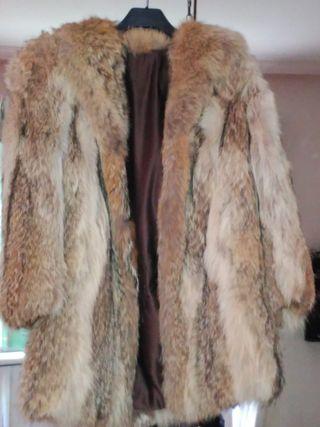Chaquetón abrigo piel 42/44