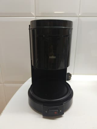 Cafetera Braun SIN jarra