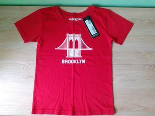 Camiseta roja Brooklyn